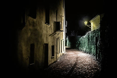 Photograph - Cemetery Alley by Holger Debek