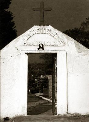 Cemetery Art Print by Amarildo Correa