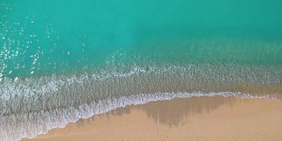 Photograph - Cemetery Beach Aerial Panoramic by Adam Romanowicz