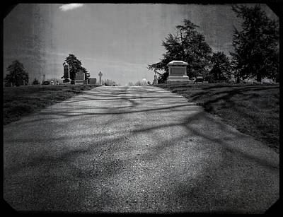 Photograph - Cemetery Entrance by Kyle West