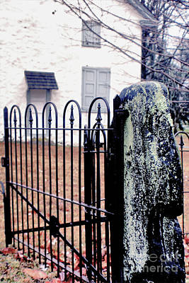 Photograph - Cemetery Gate by Sandy Moulder
