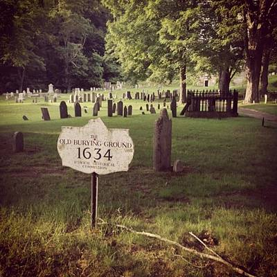 Photograph - #cemetery #grave by Patricia And Craig