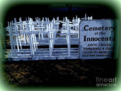 Digital Art - Cemetery Of The Innocents by Ed Weidman