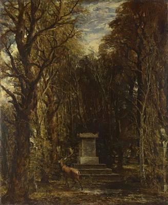 Painting - Cenotaph To The Memory Of Sir Joshua Reynolds by Constable John