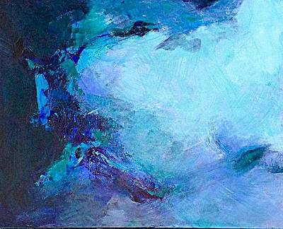 Painting - Cenote by Sally Fraser