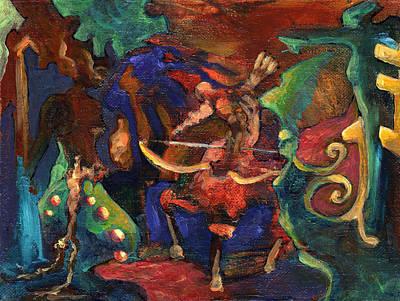 Centaur Art Print by David Matthews