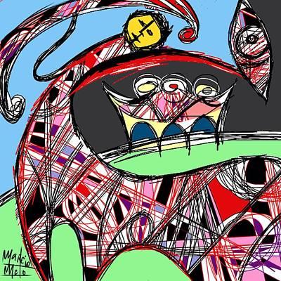 Centaur Digital Art - Centaur  by Marcio Melo