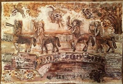Centaurs In Fall Original