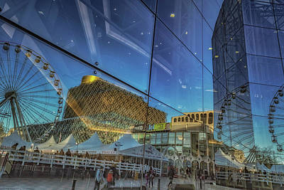 Centenary Square Reflections Art Print