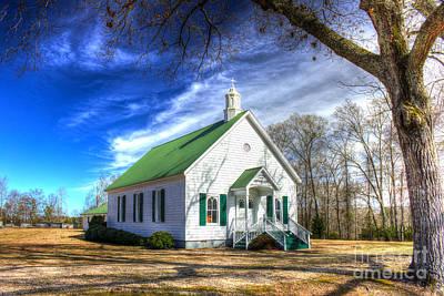 Photograph - Centennial Christian Church Est 1909 by Reid Callaway