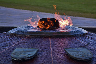 Photograph - Centennial Flame by Tatiana Travelways