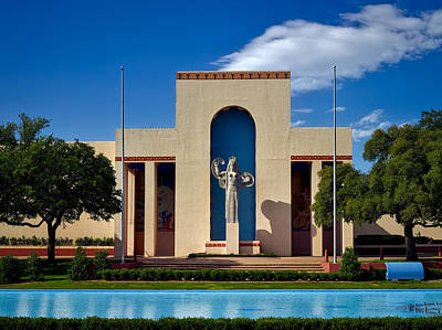 Centennial Hall At Fair Park - Dallas Art Print