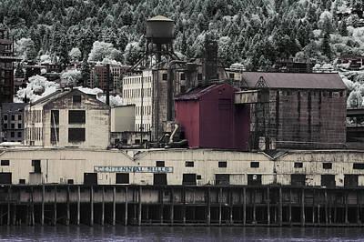 Photograph - Centennial Mills by Ken Aaron