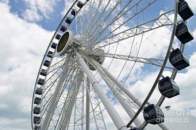 Photograph - Centennial Wheel 1 by Pamela Walrath