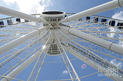 Photograph - Centennial Wheel 2 by Pamela Walrath