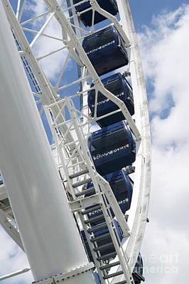 Photograph - Centennial Wheel 3 by Pamela Walrath