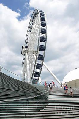 Photograph - Centennial Wheel 4 by Pamela Walrath