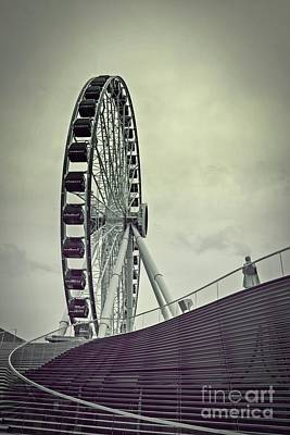 Photograph - Centennial Wheel by Randy J Heath