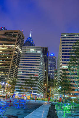 Philadelphia Photograph - Center City  by David Zanzinger
