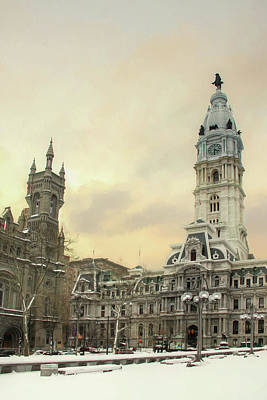 Photograph - Center City Philadelphia by Lori Deiter