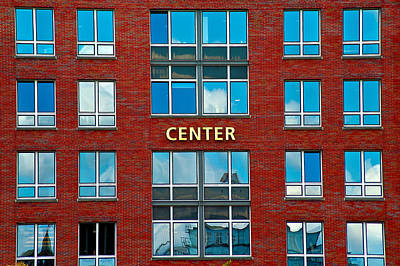 Photograph - Center by Harry Spitz