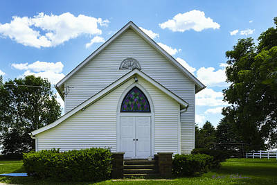 Photograph - Center Ridge Presbyterian Church by Edward Peterson