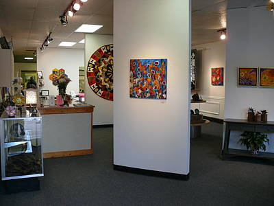 Photograph - Center Town Gallery Front by Tracie L Hawkins