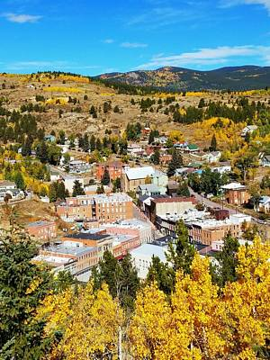 Photograph - Centeral City Colorado Fall by Douglas Miller