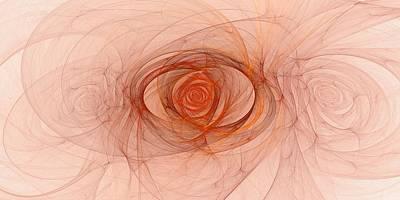 Digital Art - Centered by Doug Morgan