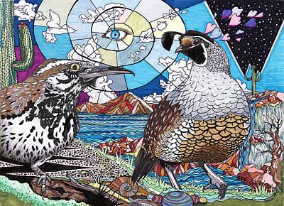 Centered Art Print by Trevor Keegan