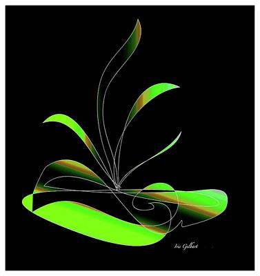 Digital Art - Centerpiece  15 by Iris Gelbart