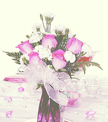 Photograph - Centerpiece by Inspirational Photo Creations Audrey Woods