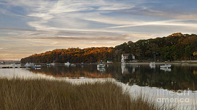 Photograph - Centerport Autumn Sunset by Alissa Beth Photography