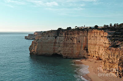 Photograph - Centianes Beach Cliffs by Angelo DeVal