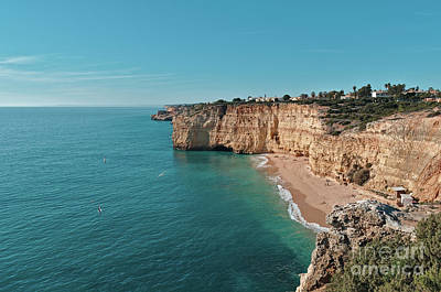 Photograph - Centianes Beach From The Cliff In Algarve by Angelo DeVal