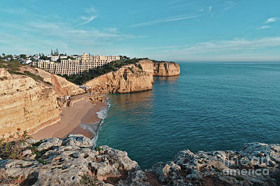 Photograph - Centianes Beach In Carvoeiro - Algarve by Angelo DeVal