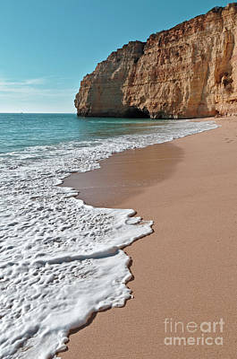 Photograph - Centianes Beach Waves In Carvoeiro by Angelo DeVal