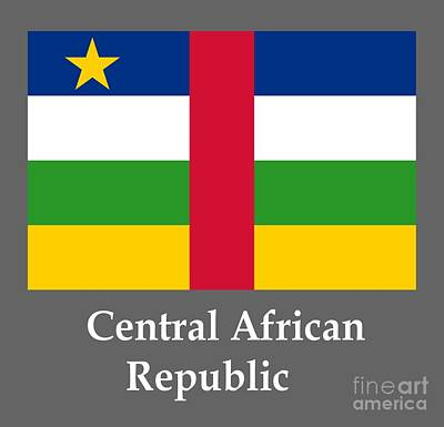 Central African Republic Flag And Name Original