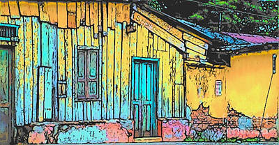 Photograph - Central American House by Lisa Dunn