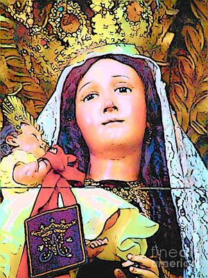 Photograph - Central American Madonna by Lisa Dunn