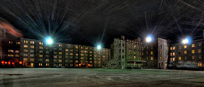 Photograph - Central Area At Night by Dan McManus