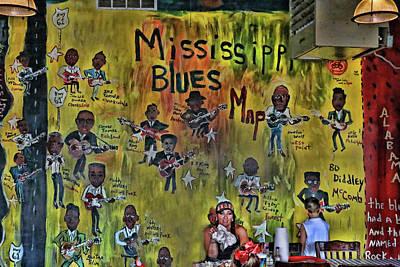 Photograph - Central B B Q # 3- Memphis by Allen Beatty