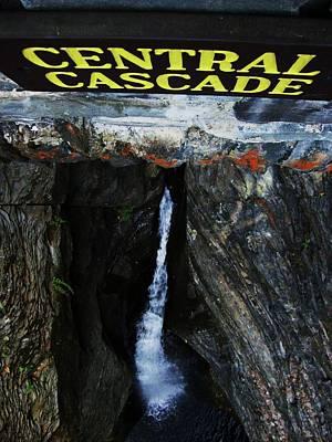 Central Cascade Bridge View Art Print by InTheSane DotCom