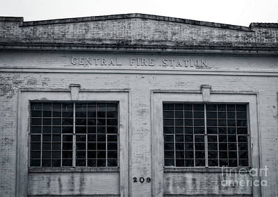 Photograph - Central Fire Station 209 by Ella Kaye Dickey