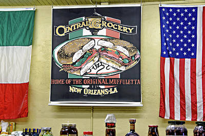 Photograph - Central Grocery by David Lawson