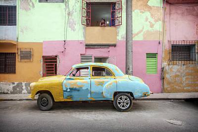 Photograph - Central Havana  by Al Hurley