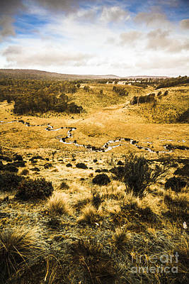 Central Highlands Of Tasmania Art Print