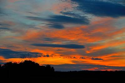 Landscape Photograph - Central Jersey Sunset by Steven Richman