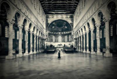 Photograph - Central Nave by Roberto Pagani
