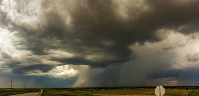 Photograph - Central Nebraska Stormscapes 008 by NebraskaSC